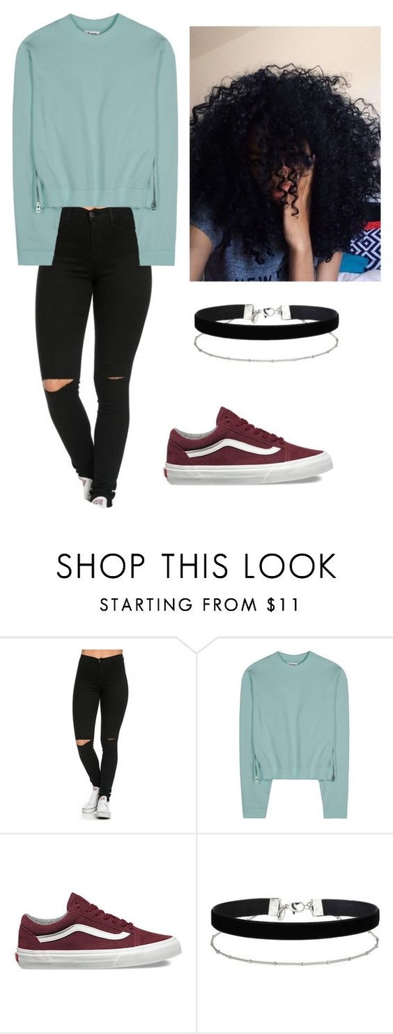 """LAzy"" by yaire787 ❤ liked on Polyvore featuring Acne Studios, Vans and Miss Selfridge"