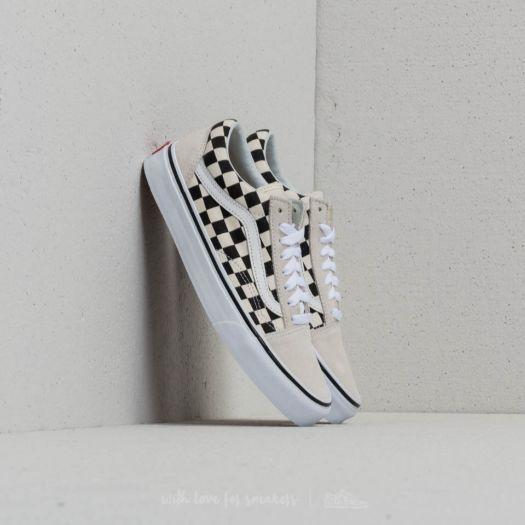 Vans Old Skool (Checkerboard) White