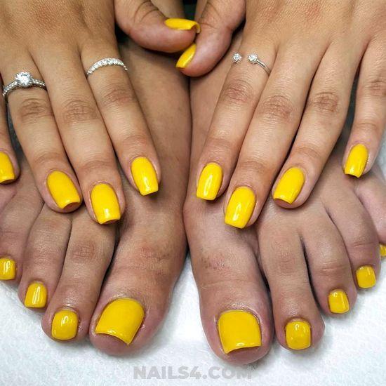 25 Cute Toe Nail Designs To Copy Yellow Toe Nails Cute Toe Nails Toe Nails