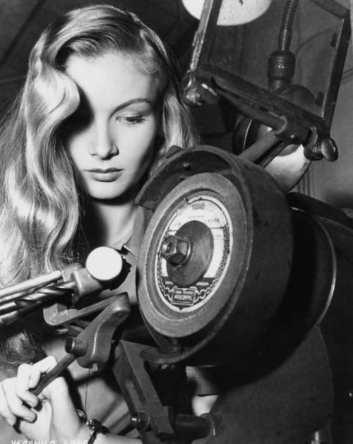 """#VeronicaLake - """"I've reached a point in my life where it's the little things that matter... I was always a rebel and probably could have got much further had I changed my attitude. But when you think about it, I got pretty far without changing attitudes. I'm happier with that."""" (1970)"""