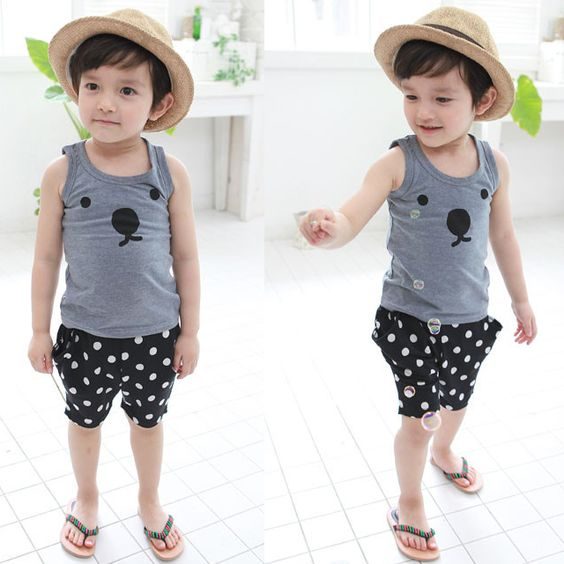 Rakuten Korean children s clothes dot whole pattern