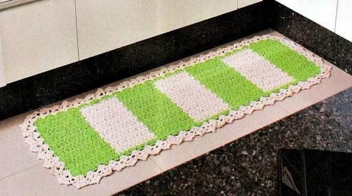 tapete de croche para cozinha - Pesquisa Google