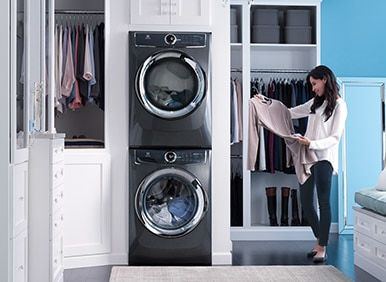 Electrolux Appliances Front Load Perfect Steam™ Washer with LuxCare™ Wash and SmartBoost™ - 4.4 Cu.Ft. EFLS617STT