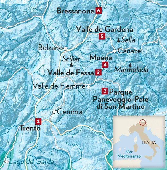 Montes Dolomitas, en el norte de Italia · National Geographic en español. · Rutas y escapadas