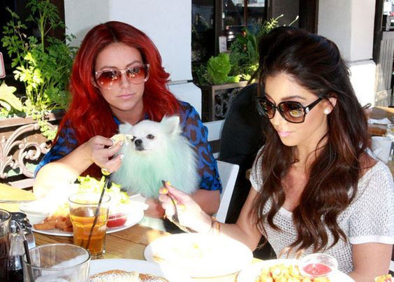 Aubrey O'day and Melissa Molinaro Lunch in Santa Monica