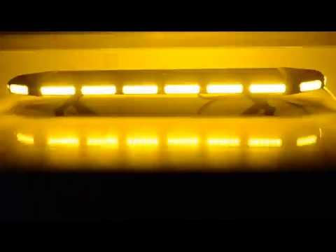 96 Led 288w 41 Amber Emergency Warning Security Strobe Light Bar Roof Top Highintensity Amber Construct Strobe Lights Bar Lighting Warning Lights