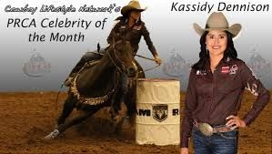 "WPRA  #10 Rookie Kassidy Dennison is coming into her first appearance at the WNFR  with her main horse; Sierra Hall of Fame ""Eagle"""