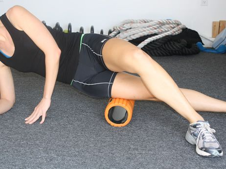 Just 10 minutes with a foam roller performing self-myofascial release a few times a week restores the structural integrity necessary for optimal performance. Massaging overactive soft tissue will reduce any inflammation in your muscles and fascial system, or the sheath that surrounds your muscles.
