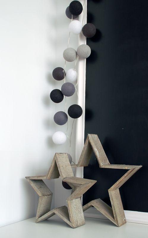 Cotton ball lights grijs