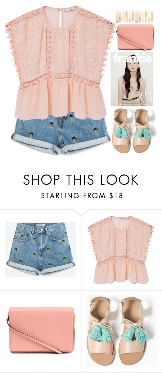 """""""Chill"""" by doga1 ❤ liked on Polyvore featuring MANGO, H&M and Zara"""