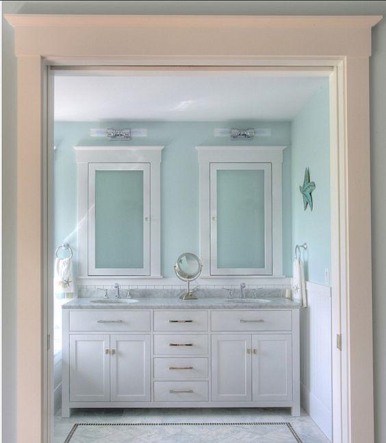 Coastal Style Bathroom: Coastal Bathrooms, Medicine Cabinets And Medicine On Pinterest