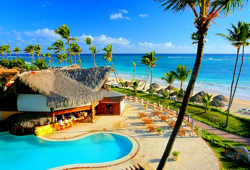 Seaside bar, Tahiti, French Polynesia