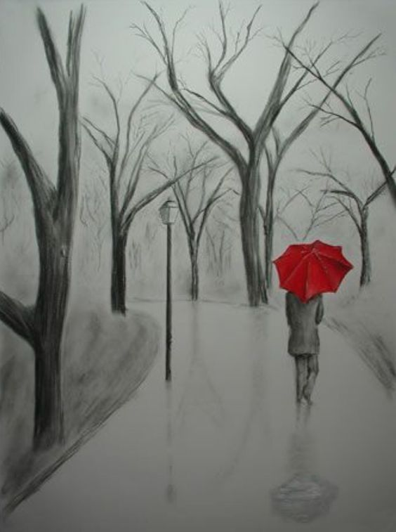 Sulthon Schizophrenia Artworks Art Drawings Sketches Pencil Art Drawings Umbrella Painting