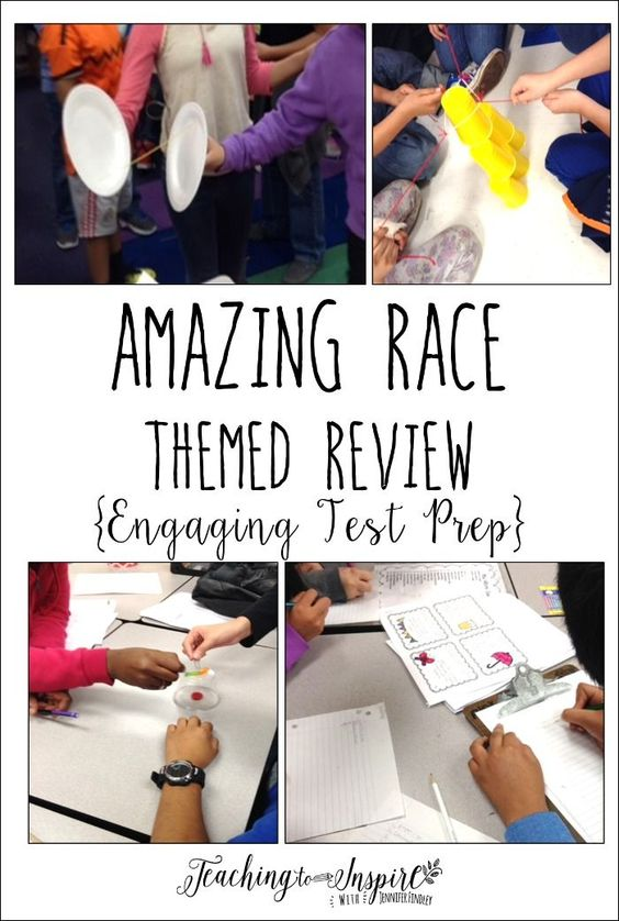 amazing race games for students