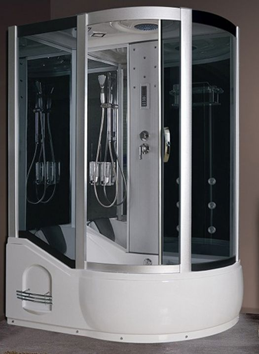 Luxury spas and whirlpool bathtubs ax 725 steam shower baths pinterest products luxury - Luxury steam showers ...