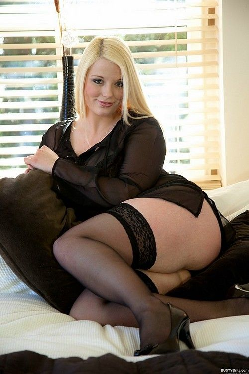 Join big girls in nylons does not