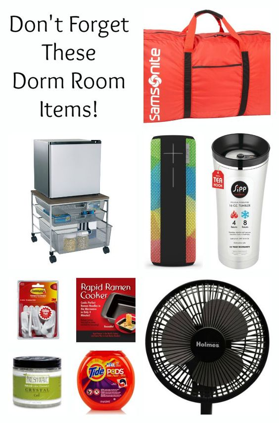 Great list of must have college dorm room items. Do you have them all?