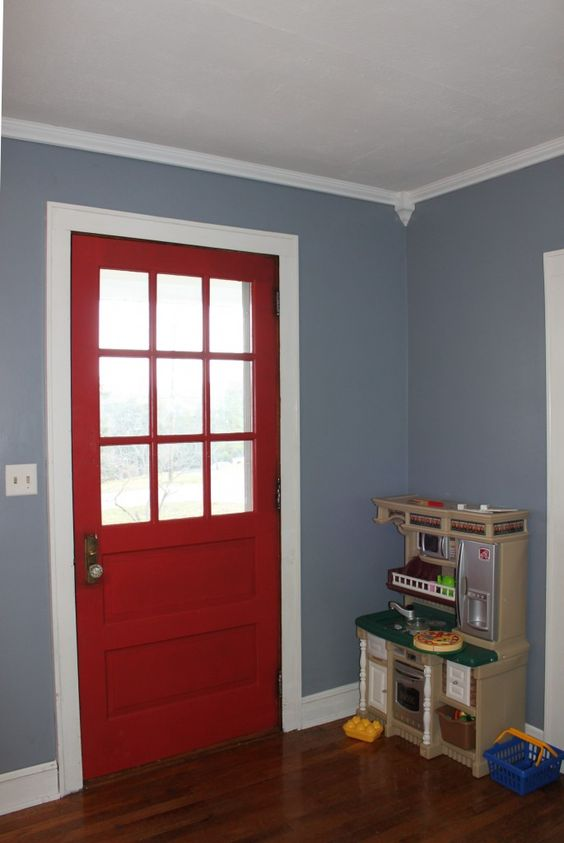 Storm cloud by sherwin williams kash 39 s bedroom - Gray clouds sherwin williams exterior ...