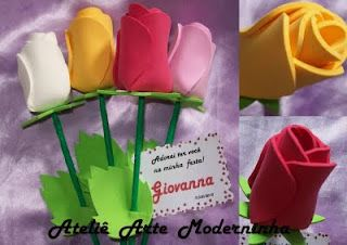 molde flor de e.v.a: Flor De, Edels Craft, Craft Ideas, Flower, Fofuchas Mother