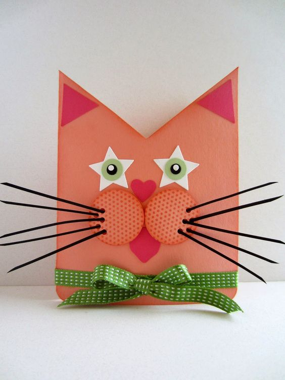 Paper Seedlings: Stella's Cat #birthday #stampinup #cat