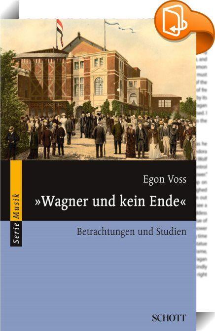 """""""Wagner und kein Ende""""    ::  Es ist nicht zuviel gesagt, wenn man behauptet, die Wagnerforschung habe eben erst begonnen. Das hat zunächst mit der so außergewöhnlichen Fülle des überlieferten Materials zu tun. Dabei scheint der Strom der immer noch hinzukommenden Dokumente einstweilen gar nicht abreißen zu wollen. Entsprechend ist sehr vieles unerforscht und ungeklärt. Dass ein Ende nicht abzusehen ist, liegt weiterhin im besonderen Wesen der Kunst Richard Wagners begründet. Die Idee ..."""