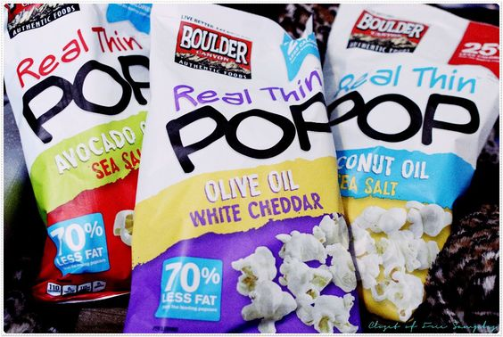 Boulder Canyon's new Real Thin Pop popcorn #Review | Get FREE Samples by Mail | Free Stuff