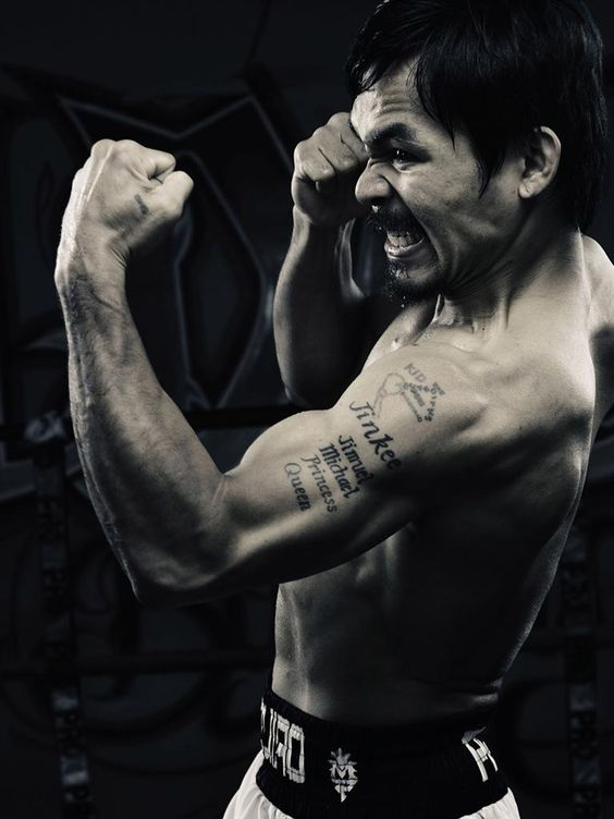 Manny Pacquiao, the pride of the Philippines.                              …