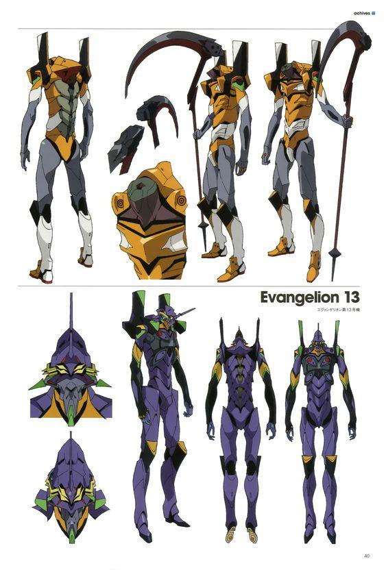 "Character Design Web : ""neon genesis evangelion tatsunoko production"