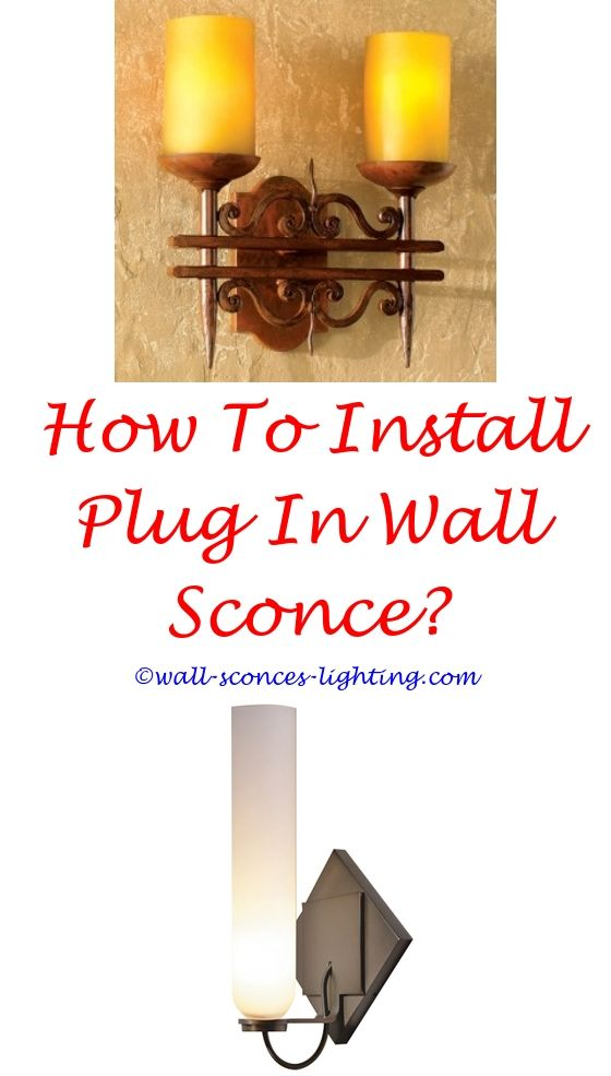 Modern Wall Sconces   Distressed walls, Easy install and Wall sconces