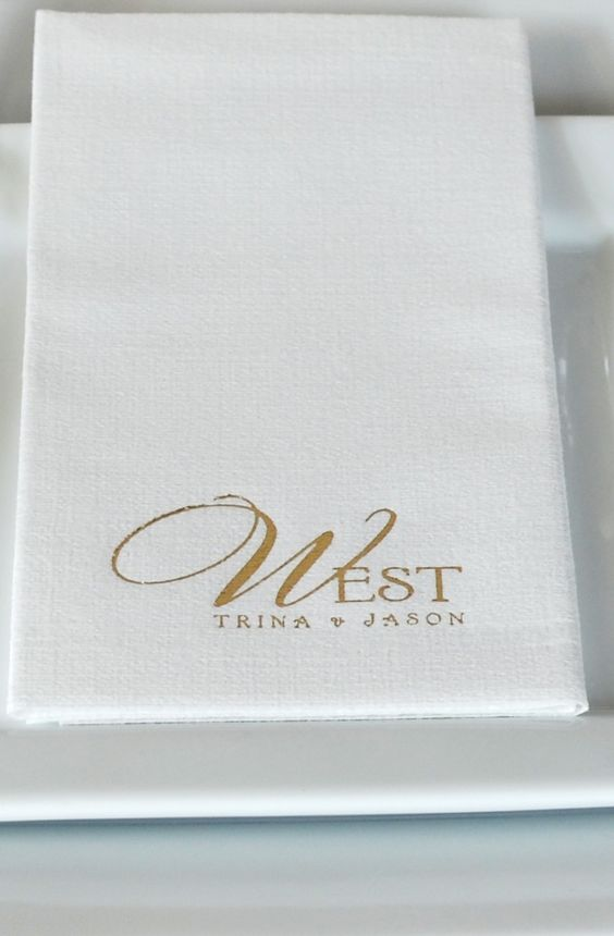 Disposable Hand Towels For Bathroom #18: Thick, Soft Absorbent Luxury Linen Feel Paper Fiber Hand Towels Personalized With A Design And