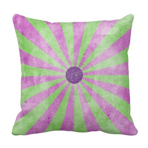 Purple Green Throw Pillow : Bright Green and Purple Throw Pillow Pillows and Blankets Pinterest Green, Purple throws ...