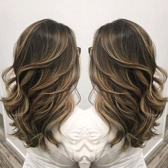 Beautiful Sombre Ash Blonde Highlighting On Cool Light