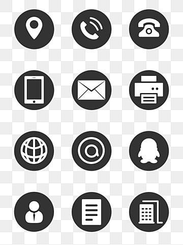 صورة أيقونة أيقونة رمز الهاتف رمز ف ف Png وملف Psd للتحميل مجانا Business Card Icons Icon Photography Vector Business Card