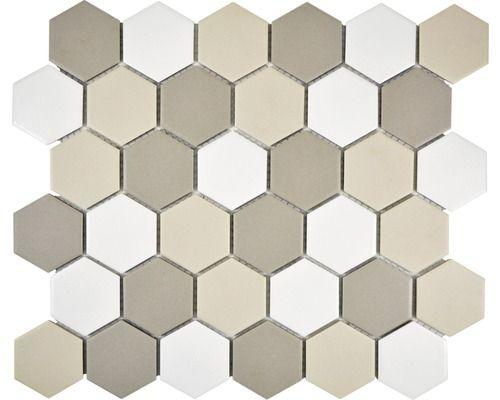 Keramikmosaik Cu Hx140 32 5x28 1 Cm Jetzt Kaufen Bei Hornbach Osterreich Mozaic Ceramics Flooring