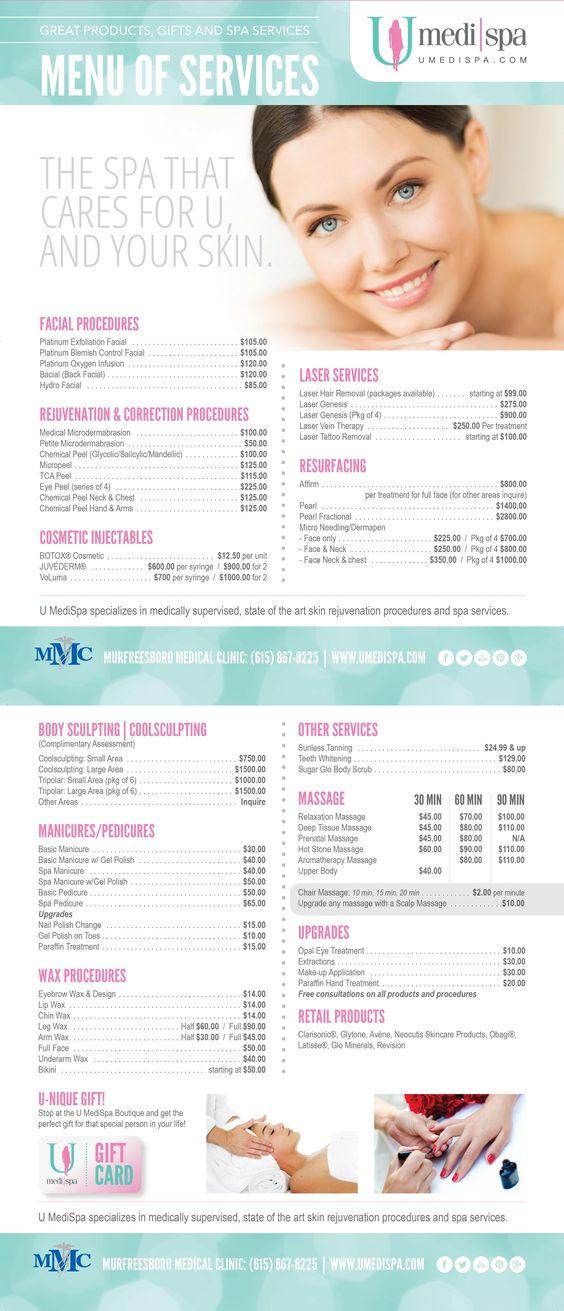 Skin Deep Medi Spa Prices