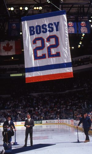 7. Mike Bossy's number 22 was retired March 3, 1992.