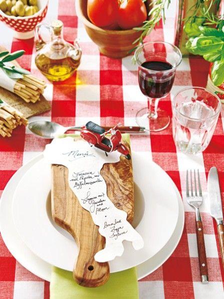 italienische tischdeko wie im lieblingsrestaurant | tables, Gartenarbeit ideen