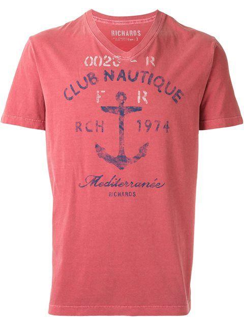 Compre Richards Camiseta com estampa em Inbrands from the world's best…