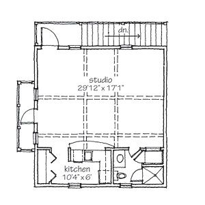 Southern living garage and floor plans on pinterest for Southern living garage apartment plans