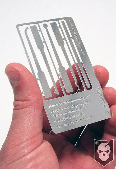 Backup lock pick set 01 edc survival pinterest for Lockpick business card