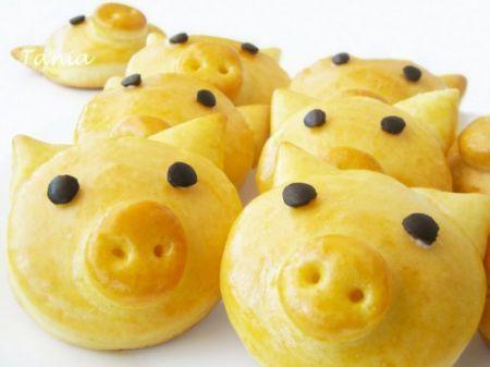 Ricette per Bambini: maialini di pan brioches