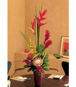 Mixed Tropical Vase , $212.00 , Orchids - FlowerShop.com