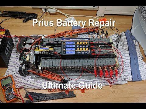 Hybrid Battery Replacement Prius Youtube Battery Repair Prius