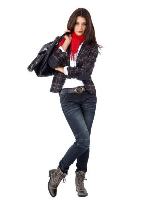 TAMARIS Jeans, dunkelblau