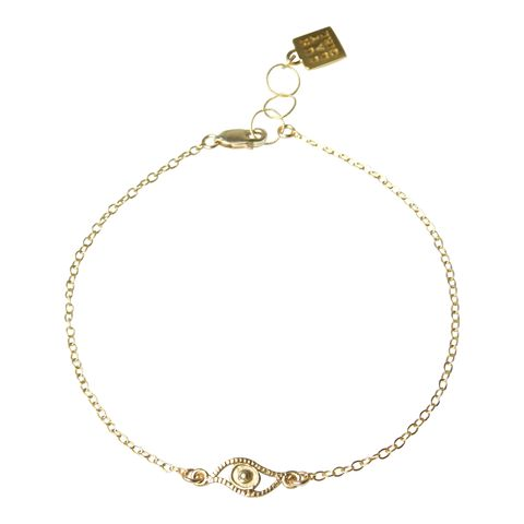 Eye Candy Gold Anklet