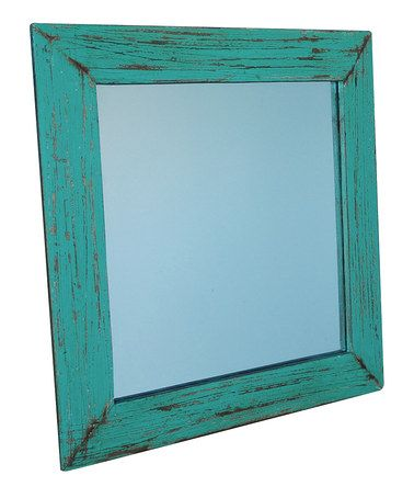 Take a look at this Green Mirror by Modelli Creations on #zulily today!