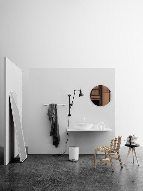 Norm floor mirror, Menu A/S bathroom inspiration
