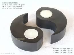 wooden candle holders - Google Search