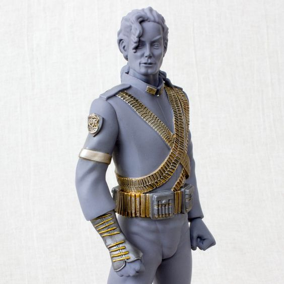 "Michael Jackson The King of Pop 9"" PVC Figure Statue Ver. JAPAN"