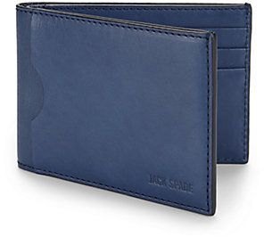 Jack Spade Leather Index Wallet